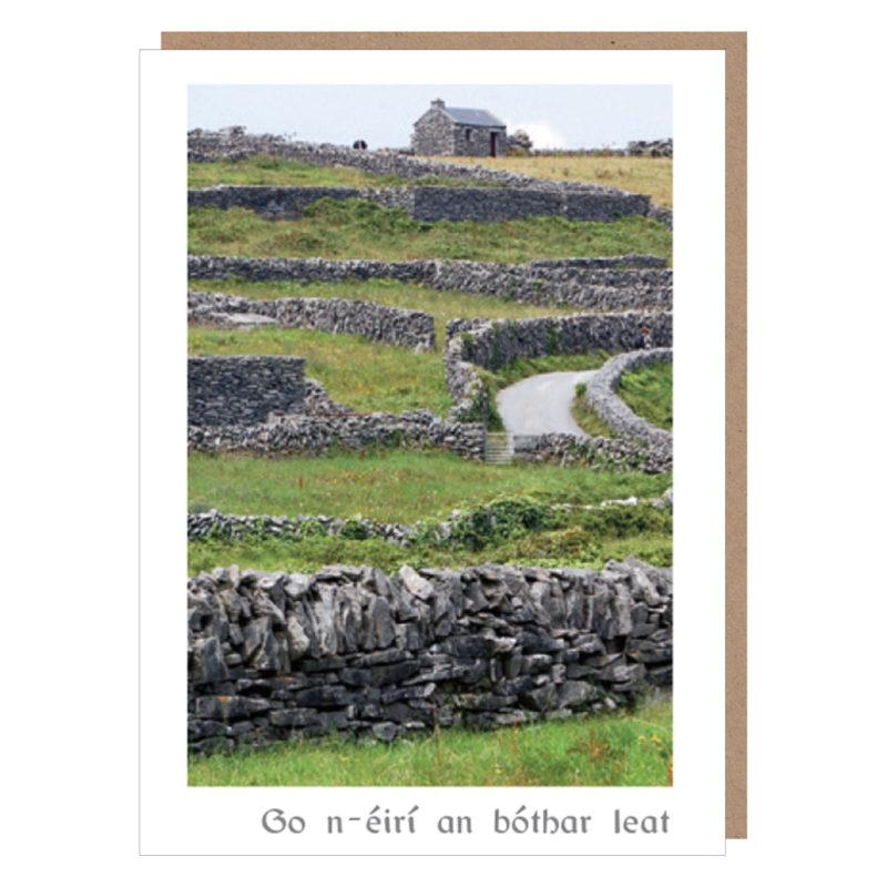 go n-eiri an bothar leat card ireland