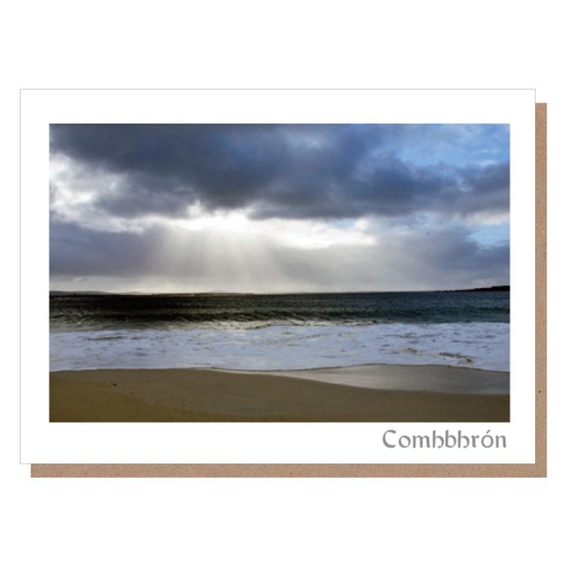 irish sympathy card comhbhron irish sympathy cards
