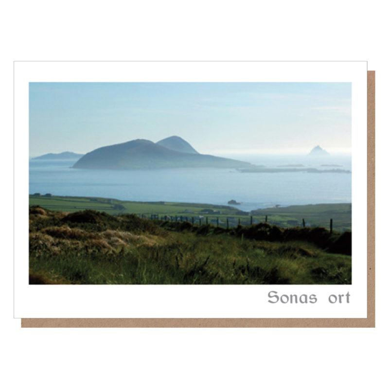 sonas ort dingle irish greeting cards by catherine dunne