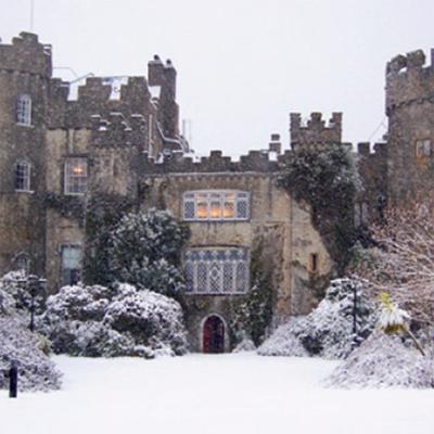 malahide castle, christmas card, made in ireland christmas