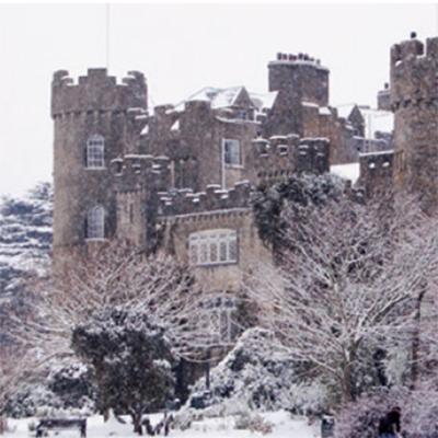 malahide castle, malahide, fingal, dublin christmas card, malahide christmas card, made in ireland christmas cards