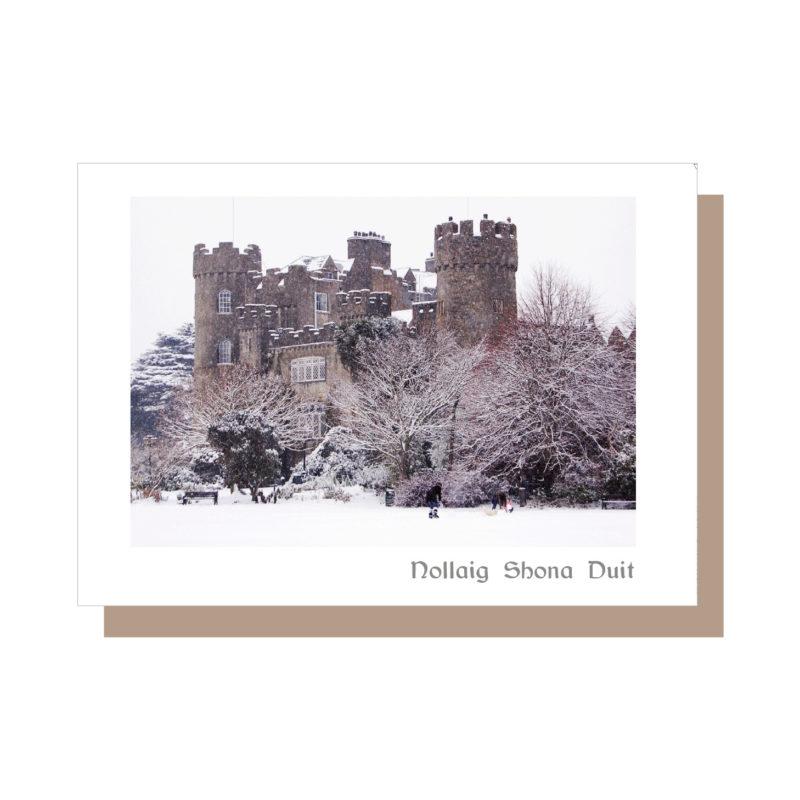 Malahide Castle Christmas Card 2021