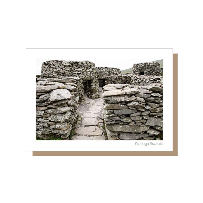 Stone beehives on the Dingle Peninsula Ireland