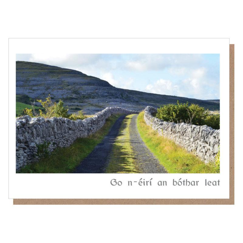 go n-eiri an bothar leat ireland