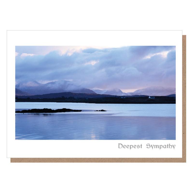irish sympathy card connemara