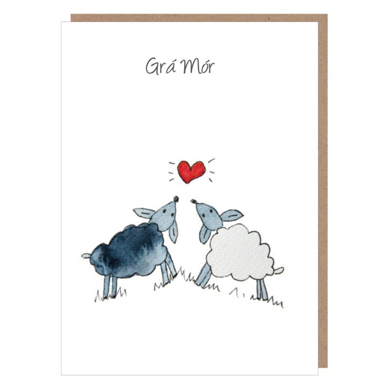 irish wedding card