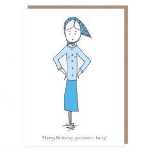 brazen hussy card by catherine dunne