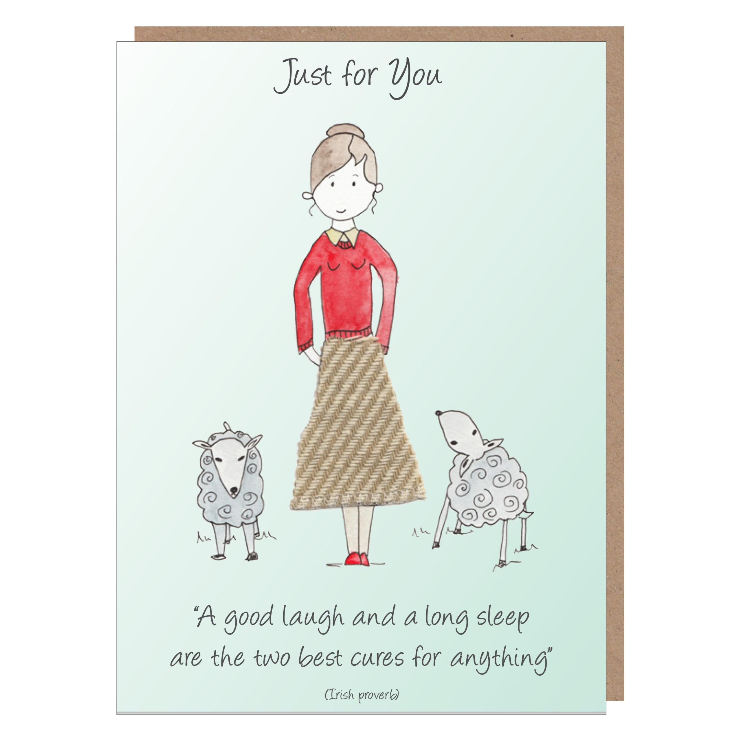 irish mammy card