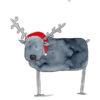 Season's Greetings - Christmas Reindeer