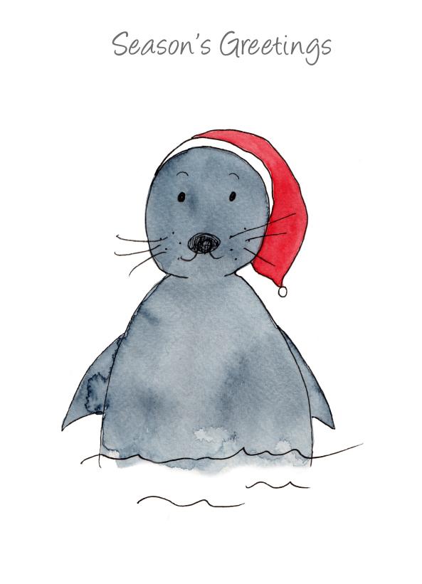 Season's Greetings - Christmas Seal