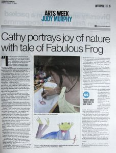 fabulous frog in the connaught tribune