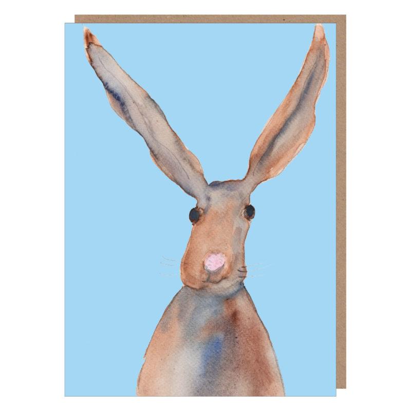 irish hare card