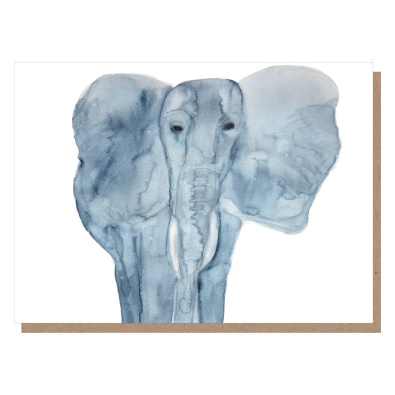 elephant art card