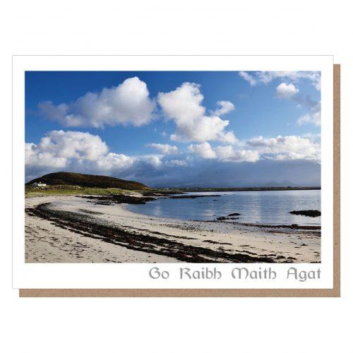 irish thank you card