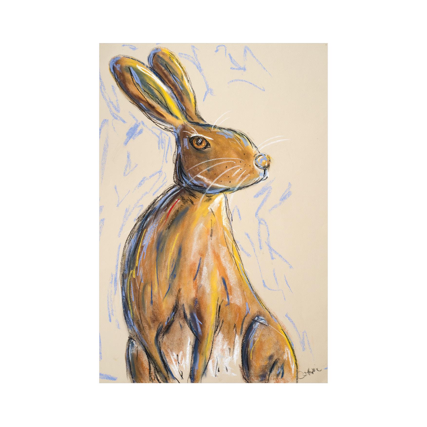 Irish hare art