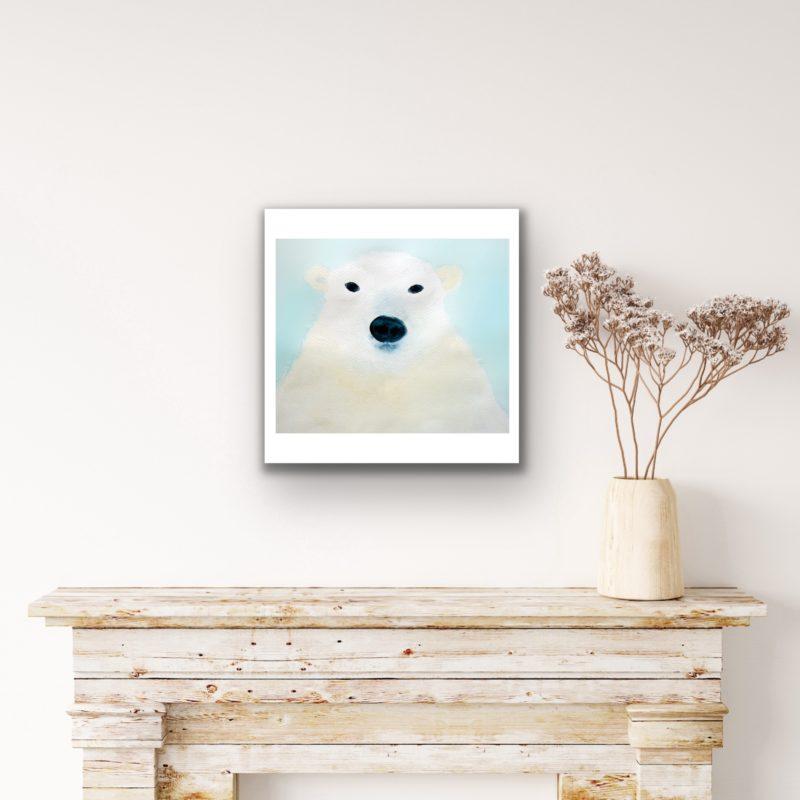 polar bear art by catherine dunne