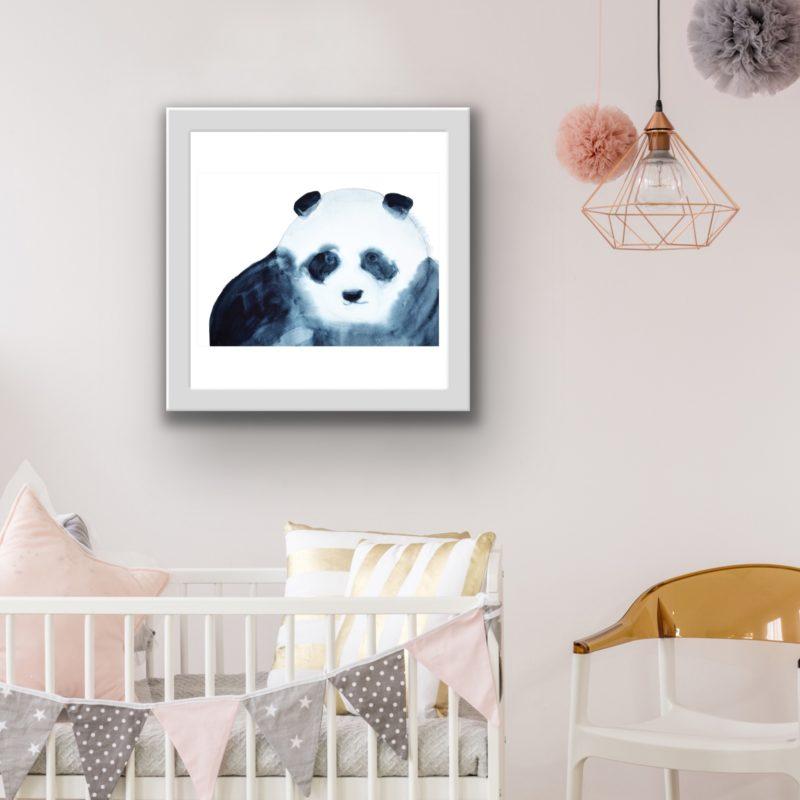 panda art by catherine dunne